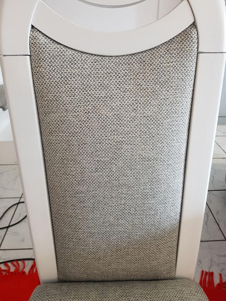 Wyprane oparcie krzesła