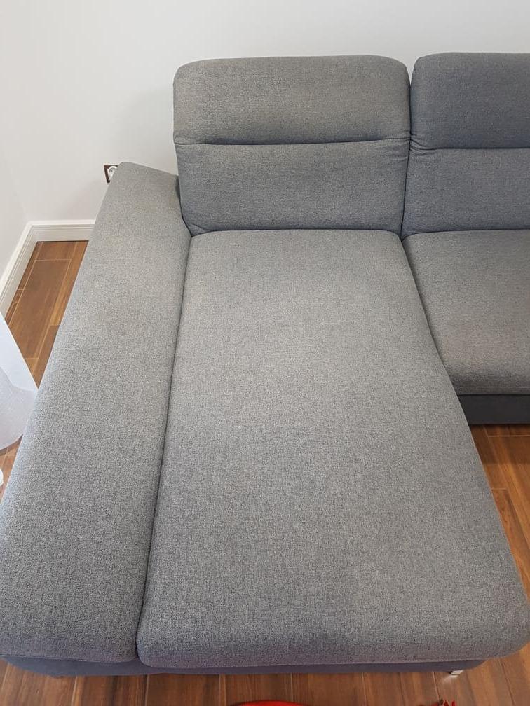 brudna tapicerka narożnika do prania - Karcher - Leszno