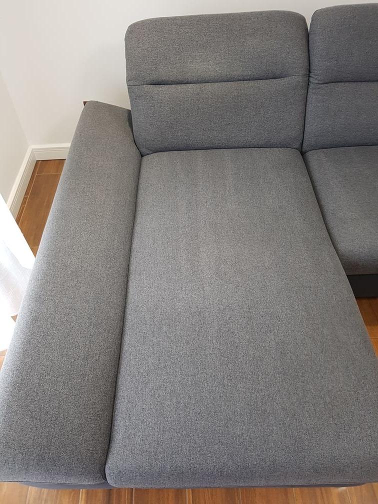 czysta tapicerka narożnika po praniu - Karcher - Leszno, Rydzyna
