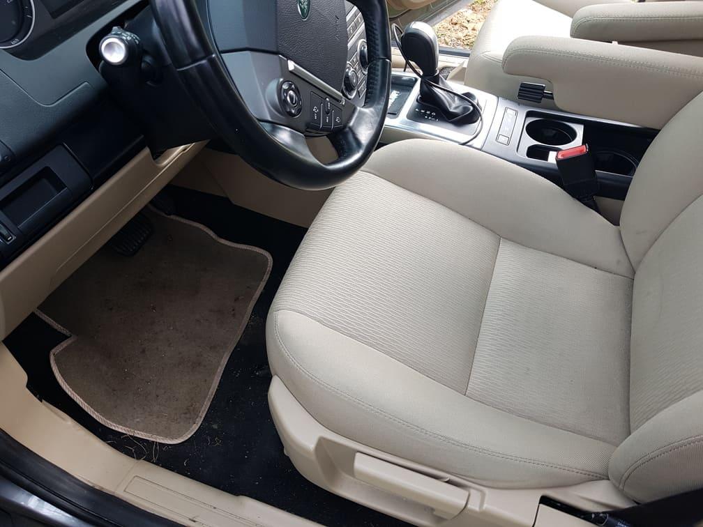 Tylne fotele w samochodzie