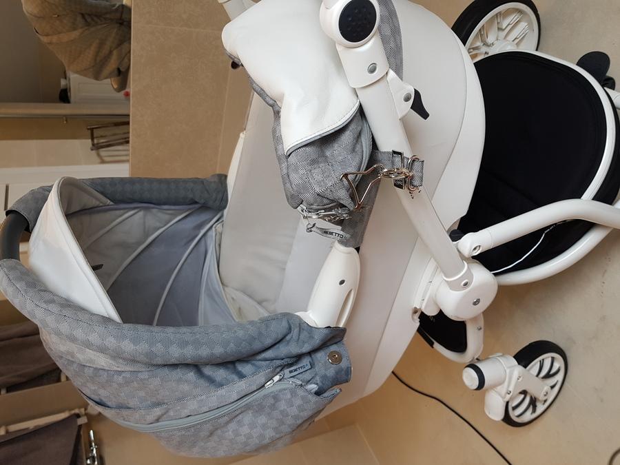 Wyprany wózek, gondola Karcherem Śrem